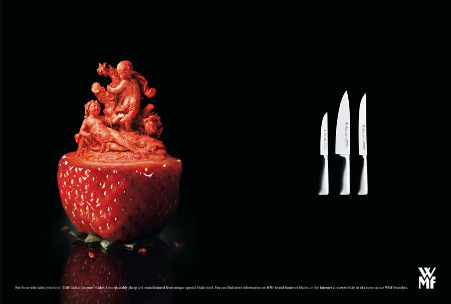 ドイツ老舗食器メーカーWMFの広告