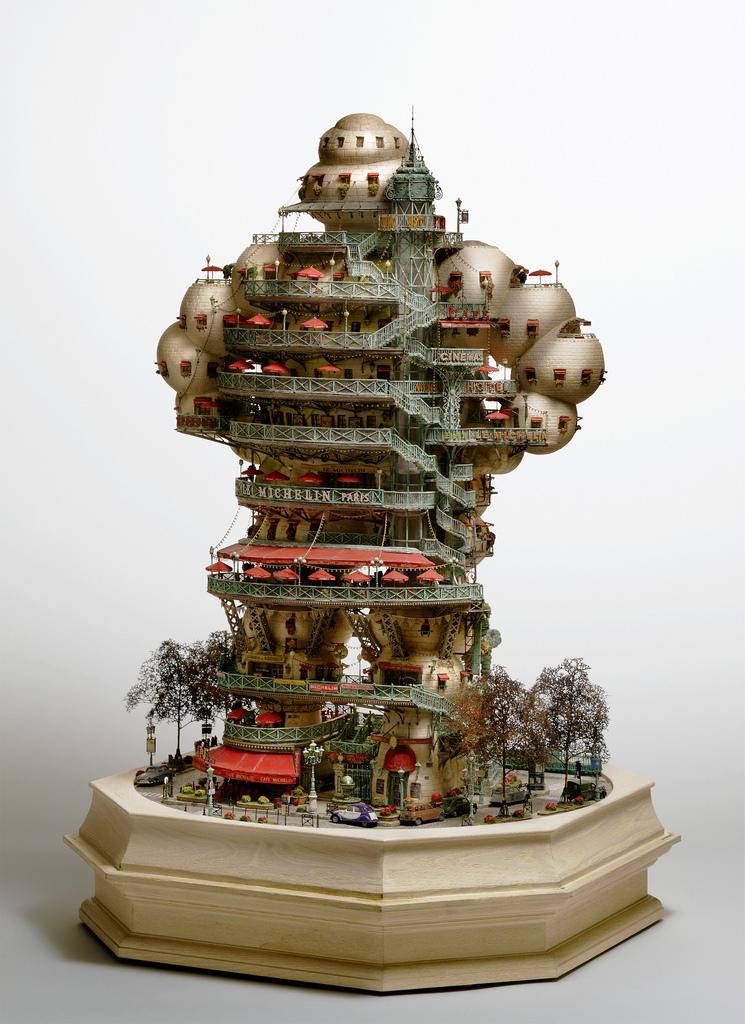 相羽高徳氏(TAKANORI AIBA)によるミニチュア盆栽ツリーハウス27