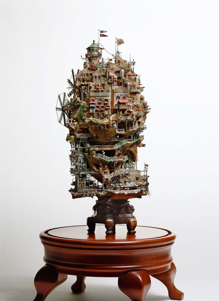 相羽高徳氏(TAKANORI AIBA)によるミニチュア盆栽ツリーハウス23