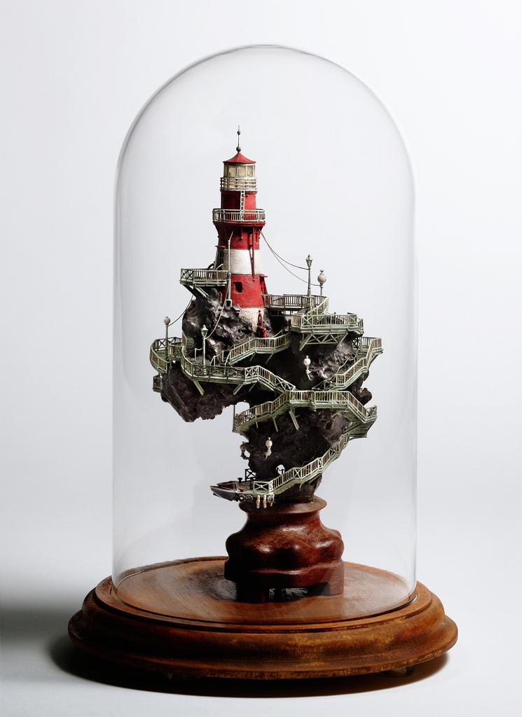 相羽高徳氏(TAKANORI AIBA)によるミニチュア盆栽ツリーハウス19