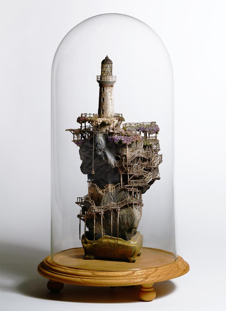 相羽高徳氏(TAKANORI AIBA)によるミニチュア盆栽ツリーハウス17
