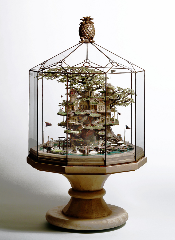 相羽高徳氏(TAKANORI AIBA)によるミニチュア盆栽ツリーハウス15