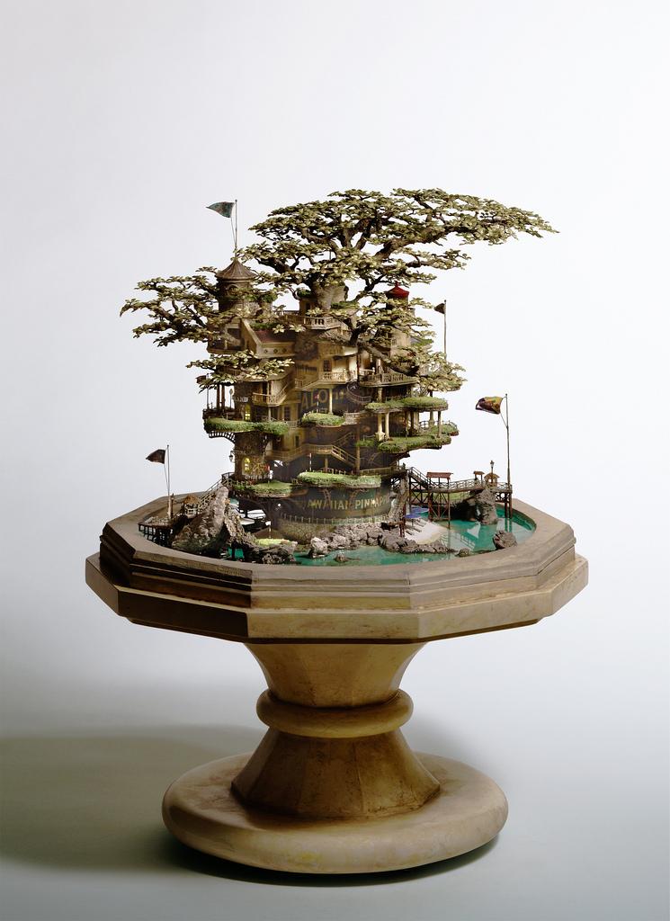 相羽高徳氏(TAKANORI AIBA)によるミニチュア盆栽ツリーハウス11