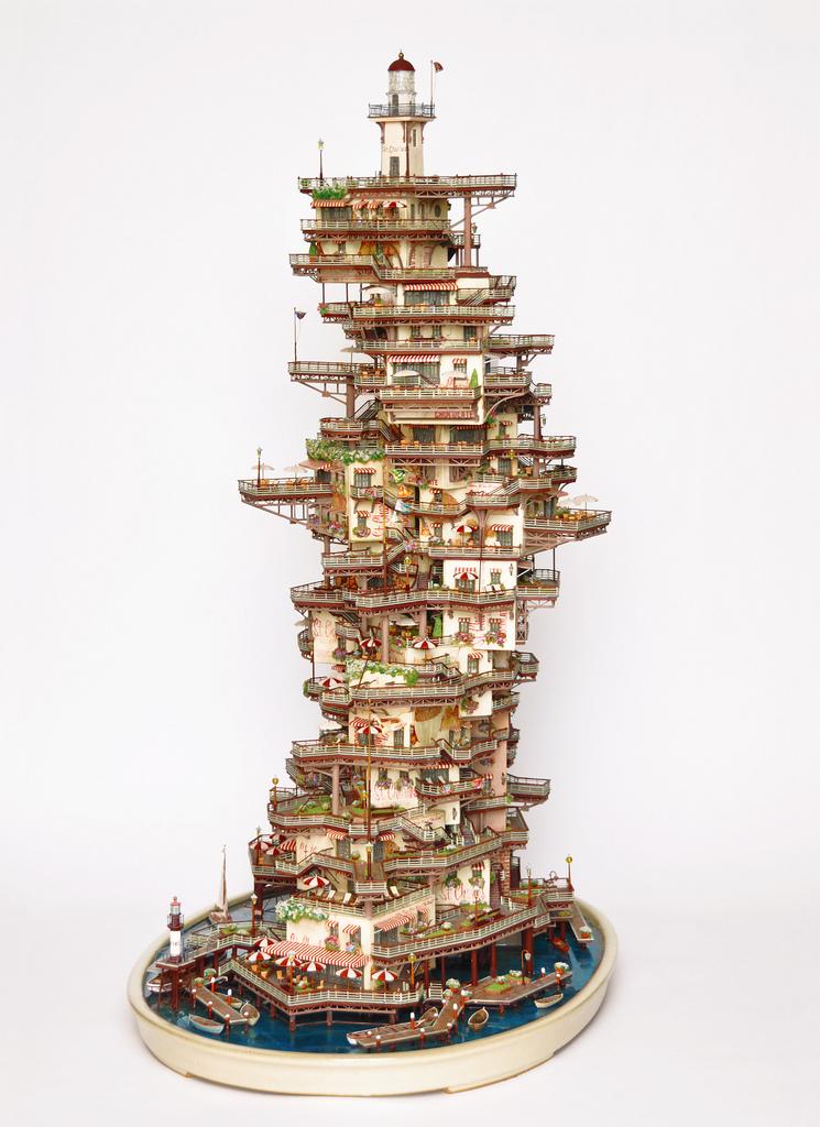 相羽高徳氏(TAKANORI AIBA)によるミニチュア盆栽ツリーハウス9