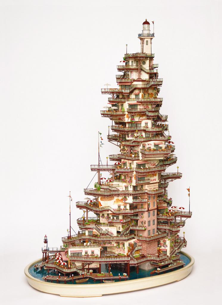 相羽高徳氏(TAKANORI AIBA)によるミニチュア盆栽ツリーハウス8