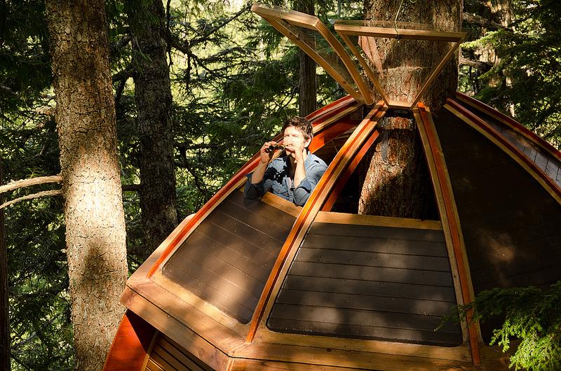 カナダウィスラーにある秘密のツリーハウス「The HemLoft」18
