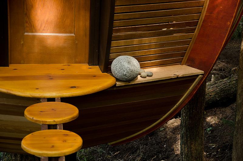 カナダウィスラーにある秘密のツリーハウス「The HemLoft」9