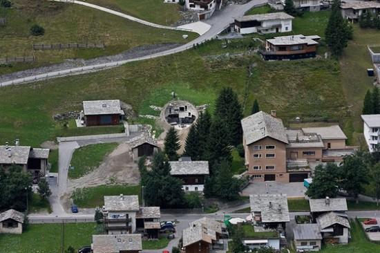 スイス山あいの村ヴァルスにあるVILLA VALS23
