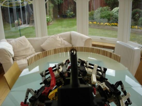 レゴでつくったガトリング砲3