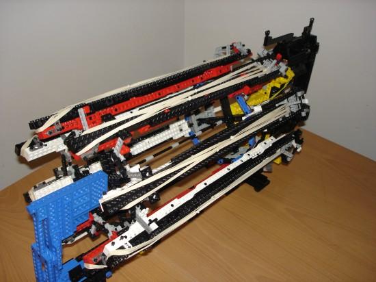 レゴでつくったガトリング砲9