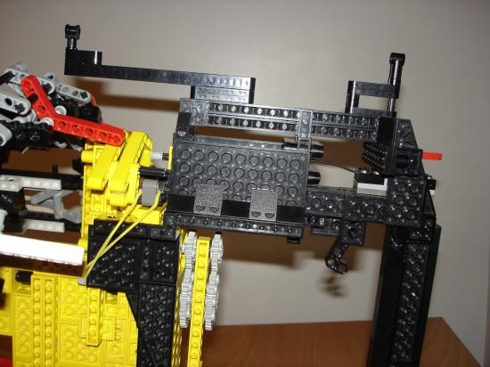 レゴでつくったガトリング砲4