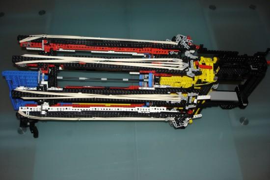レゴでつくったガトリング砲8