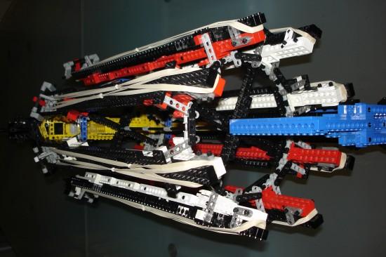 レゴでつくったガトリング砲7