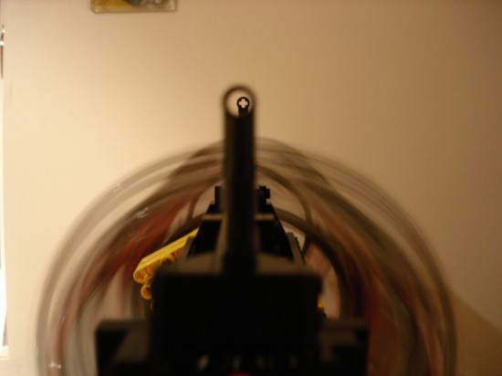 レゴでつくったガトリング砲1