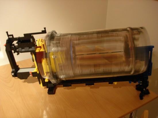 レゴでつくったガトリング砲6