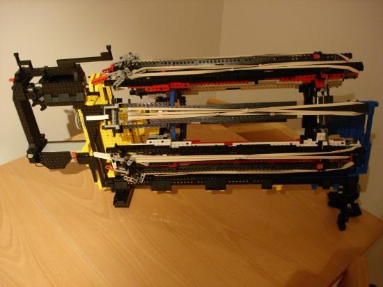 レゴでつくったガトリング砲10
