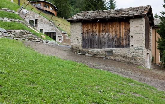 スイス山あいの村ヴァルスにあるVILLA VALS3