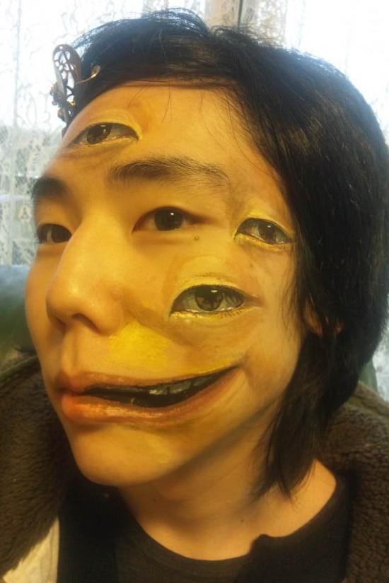 趙 燁(ちょう ひかる)さんのボディーペイント12