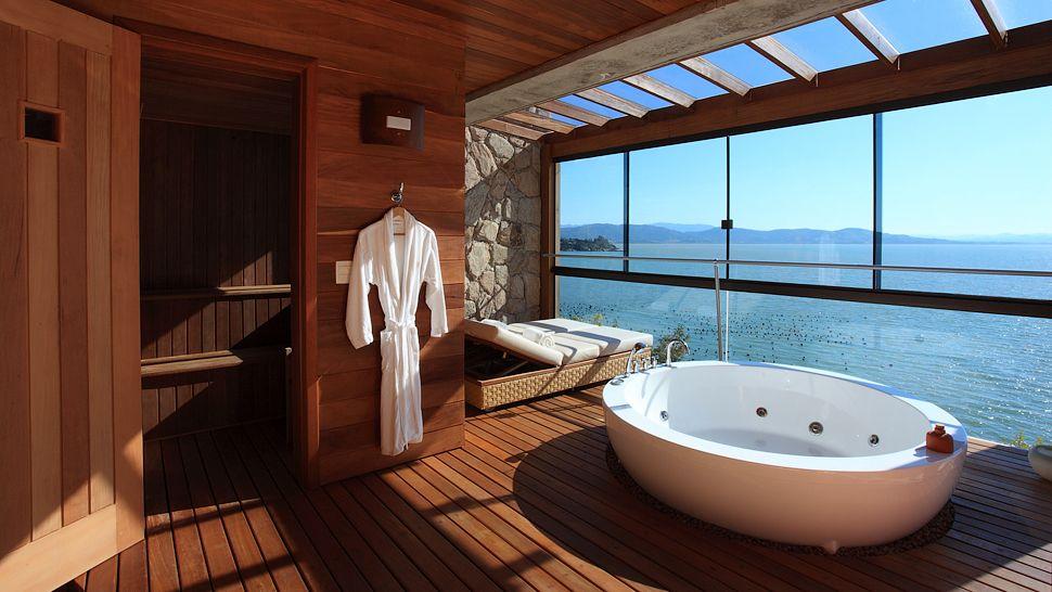 高級ホテル検索Kiwi CollectionBath of a view1