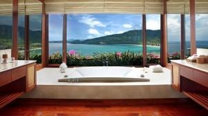 高級ホテル検索Kiwi CollectionBath of a view8
