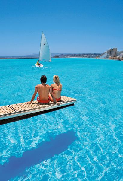 世界一大きなプールがあるホテル「サン·アルフォンソ·デル·マールリゾート」19