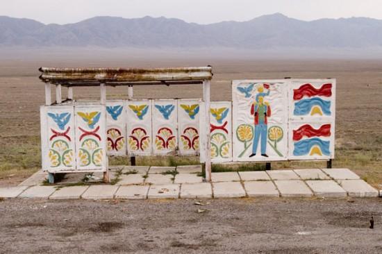 ロシアのバス停留所3
