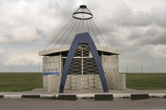 ロシアのバス停留所5