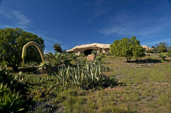 マリブにある石の家1
