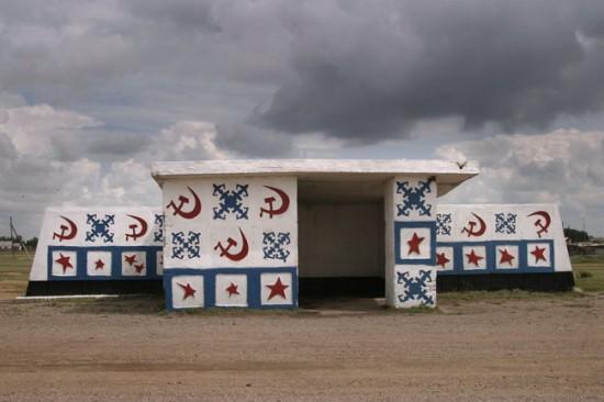 ロシアのバス停留所6