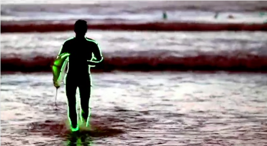 ボンダイビーチでのナイトサーフィン11