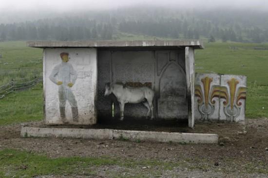 ロシアのバス停留所11