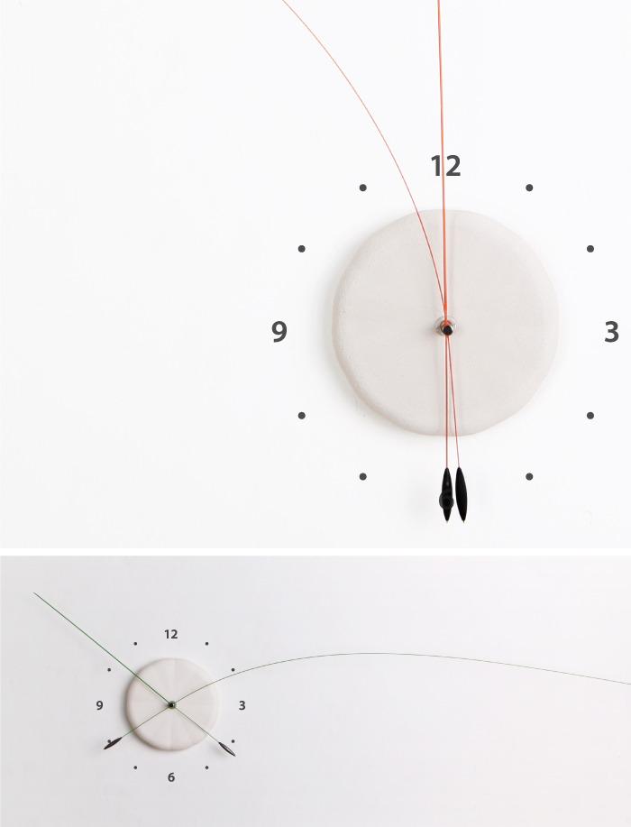 しなやかな針の時計9