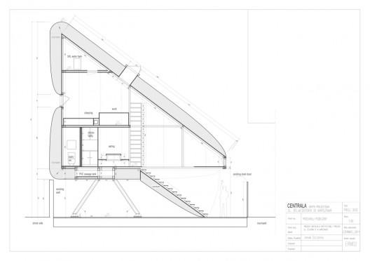 世界一の狭小住宅Keret House8
