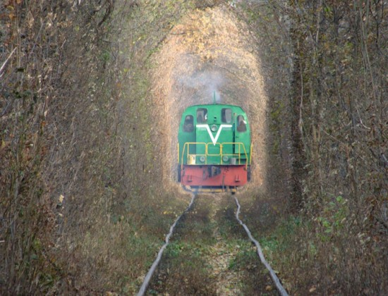 Tunnel of Love in Kleven, Ukraine25