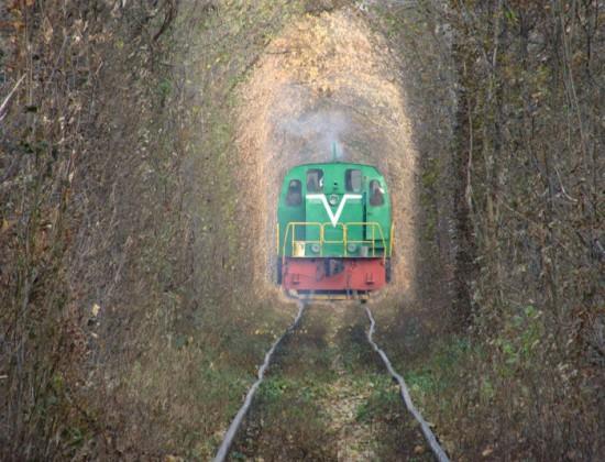Tunnel of Love in Kleven, Ukraine25