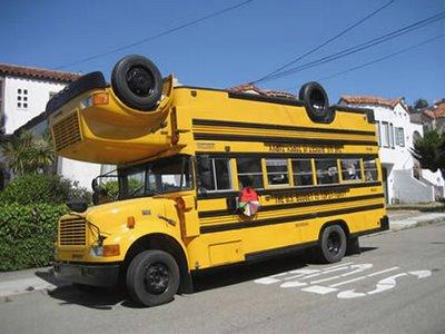 世界に溢れるユニークなバス1