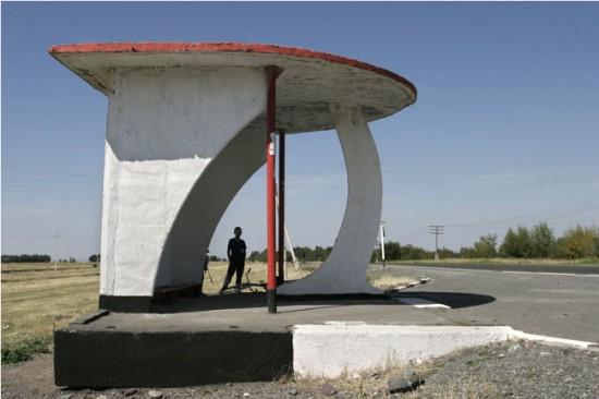 ロシアのバス停留所15