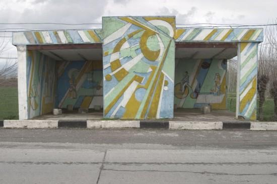 ロシアのバス停留所18