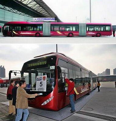 世界に溢れるユニークなバス2