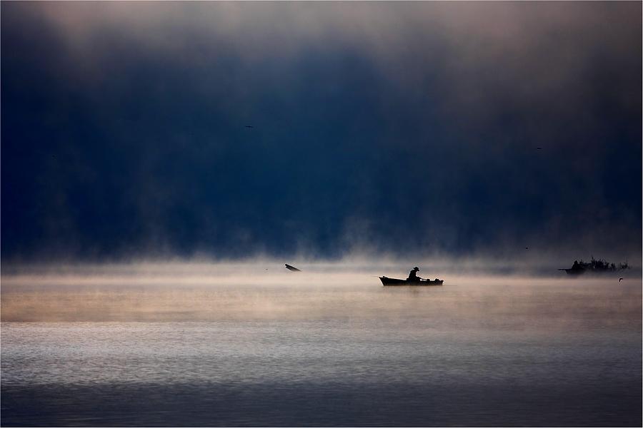 この世のものとは思えない美しい霧がたちこめる自然風景写真12