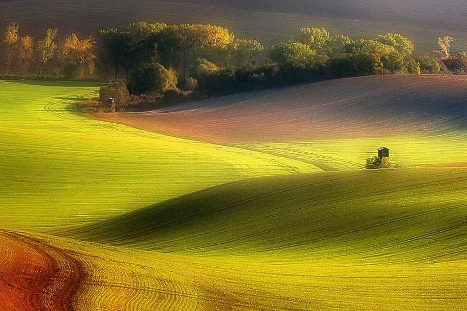 ファンタジーの世界のような自然風景写真16