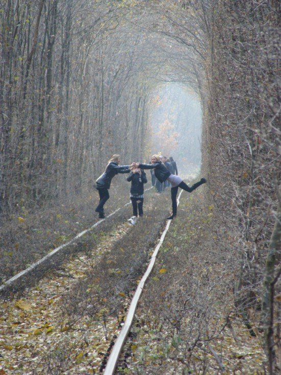 Tunnel of Love in Kleven, Ukraine26