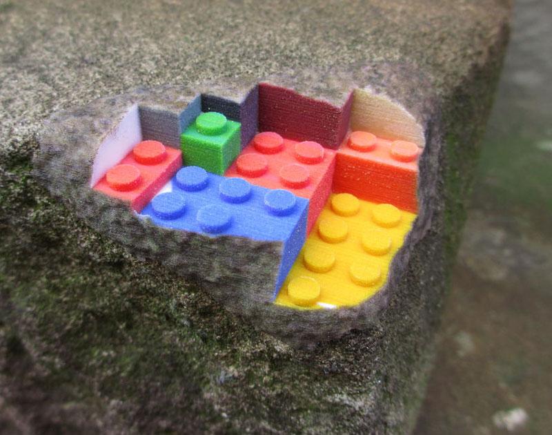 3Dプリンターでつくったレゴ8