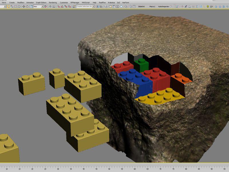 3Dプリンターでつくったレゴ4