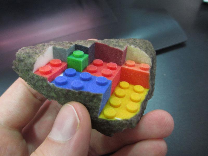 3Dプリンターでつくったレゴ6
