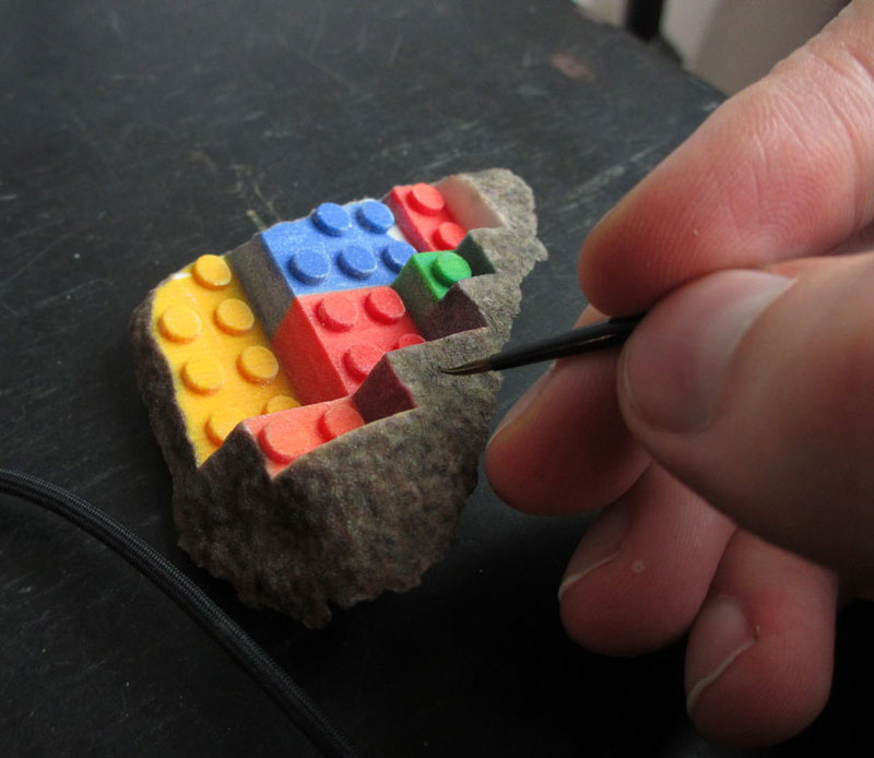 3Dプリンターでつくったレゴ5
