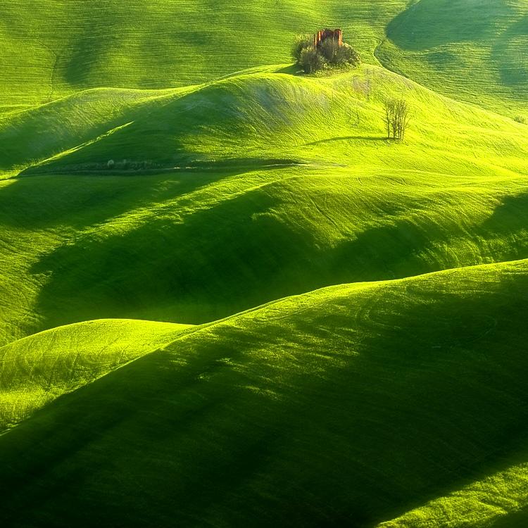 ファンタジーの世界のような自然風景写真13