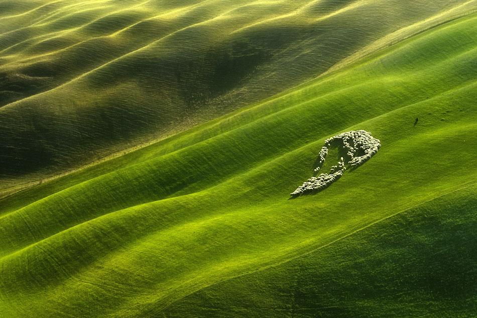 ファンタジーの世界のような自然風景写真12