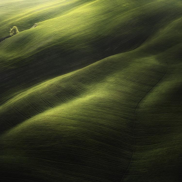 ファンタジーの世界のような自然風景写真11