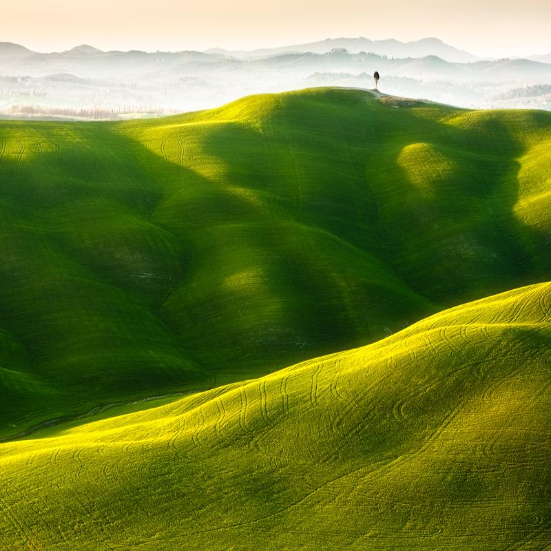 ファンタジーの世界のような自然風景写真7